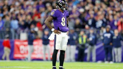 Quarterback Lamar Jackson: Ravens lose to themselves