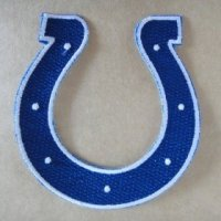 Indianapolis Colts Logo Patches