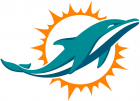 Miami Dolphins Stickers