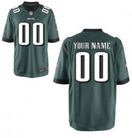 Philadelphia Eagles Custom Letter and Number Kits For New Team Color Jersey