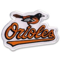 Baltimore Orioles Logo Embroidered Iron On Patches