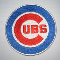 Chicago Cubs Logo Embroidered Iron On Patches