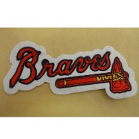 Atlanta Braves Logo Embroidered Iron On Patches