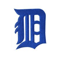 Detroit Tigers Logo Embroidered Iron On Patches