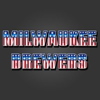 Milwaukee Brewers American Captain Logo iron on transfer