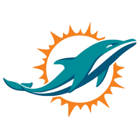 Miami Dolphins 2013-Pres Primary Logo Iron-on Stickers (Heat Transfers)