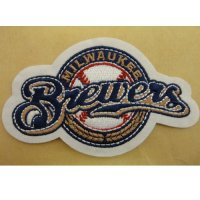 Milwaukee Brewers Logo Embroidered Iron On Patches