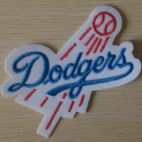 Los Angeles Dodgers Logo Embroidered Iron On Patch v3