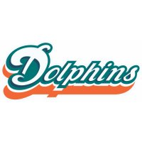 Miami Dolphins Script Logo  Iron-on Stickers (Heat Transfers) version 4
