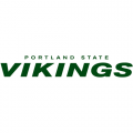 1999-Pres Portland State Vikings Wordmark Logo Decals Stickers