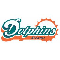 Miami Dolphins Script Logo  Iron-on Stickers (Heat Transfers) version 1