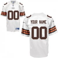 Cleveland Browns Custom Letter and Number Kits For White Jersey2754915