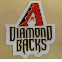 Arizona Diamondbacks Logo Embroidered Iron On Patches