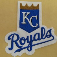 Kansas City Royals Logo Embroidered Iron On Patches