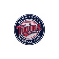 Minnesota Twins Logo Embroidered Iron On Patches