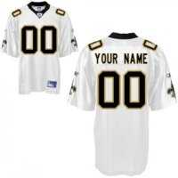 New Orleans Saints Custom Letter and Number Kits For White Jersey