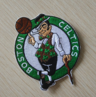 Boston Celtics Logo Embroidered Iron On Patches 2