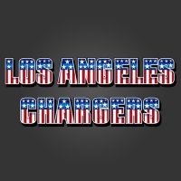 Los Angeles Chargers American Captain Logo iron on transfer