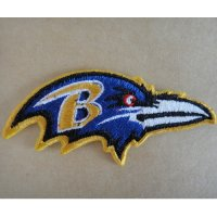 Baltimore Ravens Logo Patches