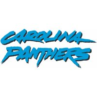 Carolina Panthers Script Logo  Iron-on Stickers (Heat Transfers)