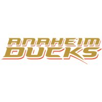 Anaheim Ducks Script Logo  Iron-on Stickers (Heat Transfers) version 1