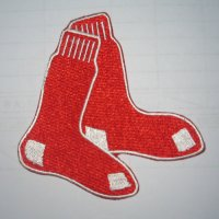 Boston Red Sox Logo Embroidered Iron On Patches