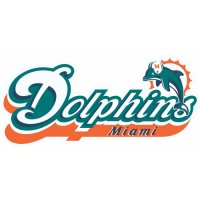 Miami Dolphins Alternate Logo  Iron-on Stickers (Heat Transfers) version 1