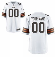 Cleveland Browns Custom Letter and Number Kits For New White JerseyNFL-12530727