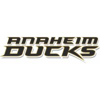 Anaheim Ducks Script Logo  Iron-on Stickers (Heat Transfers) version 2