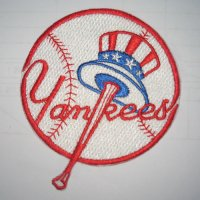 New York Yankees Logo Embroidered Iron On Patches