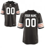 Cleveland Browns Custom Letter and Number Kits For New Team Color JerseyNFL-12530722
